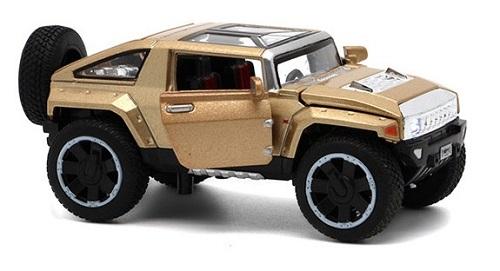 โมเดลรถเหล็ก โมเดลรถยนต์ Hummer hx 6