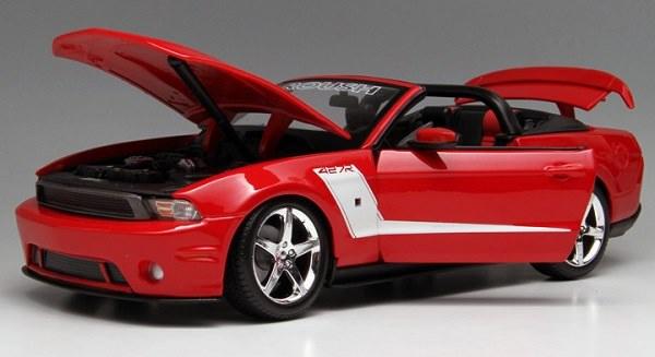 โมเดลรถ โมเดลรถเหล็ก โมเดลรถยนต์ Ford 2010 427R red 4