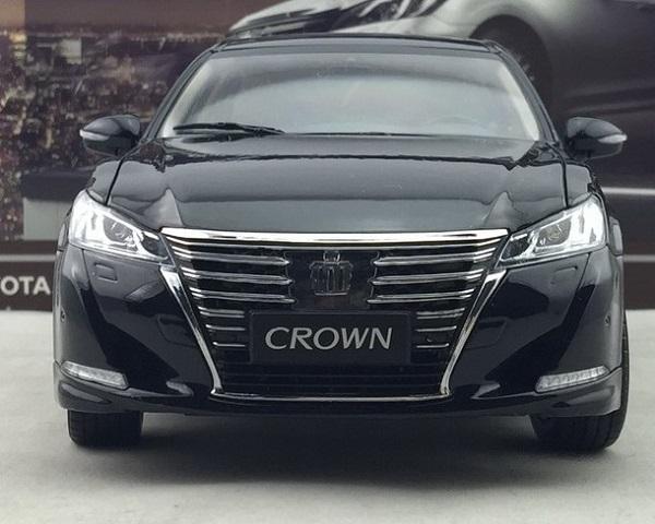 โมเดลรถ โมเดลรถเหล็ก โมเดลรถยนต์ toyota crwon 2015 black 5