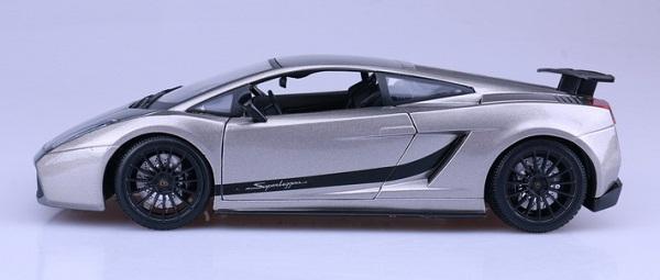 โมเดลรถ โมเดลรถเหล็ก โมเดลรถยนต์ Lamborghini gallardo superleggera 5