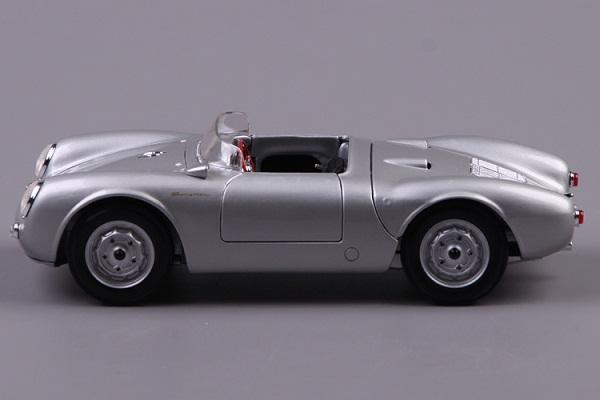 โมเดลรถ โมเดลรถเหล็ก โมเดลรถยนต์ Porsche 550A Spyder silver 5
