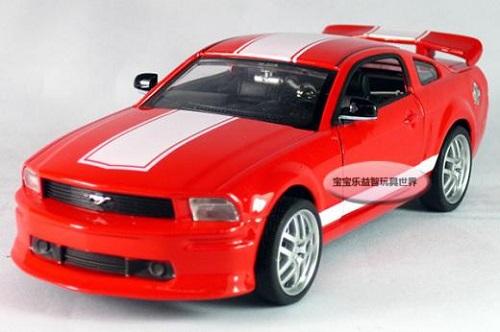 โมเดลรถเหล็ก โมเดลรถยนต์ Ford Mustang GT 7