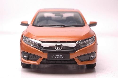 โมเดลรถ โมเดลรถเหล็ก โมเดลรถยนต์ Honda Civic 2016 4