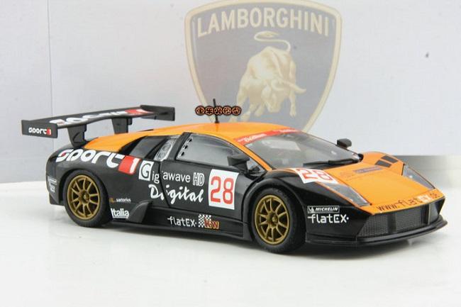 โมเดลรถ โมเดลรถยนต์ โมเดลรถเหล็ก Lamborghini LP670-4 #22 2