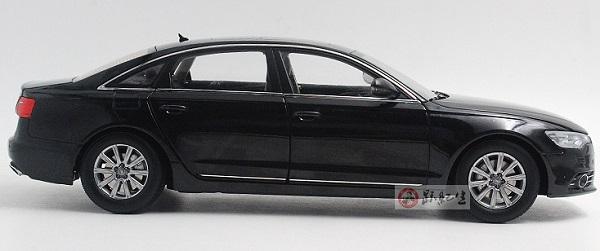 โมเดลรถ โมเดลรถเหล็ก โมเดลรถยนต์ audi A6L black 3