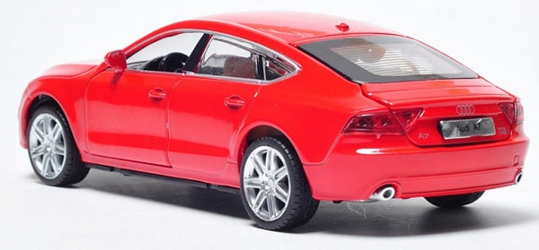 โมเดลรถเหล็ก โมเดลรถยนต์ Audi A7 2