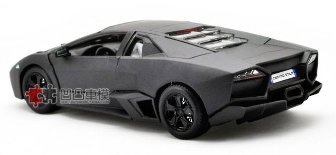 โมเดลรถ โมเดลรถเหล็ก โมเดลรถยนต์ lamborghini reventon black 3