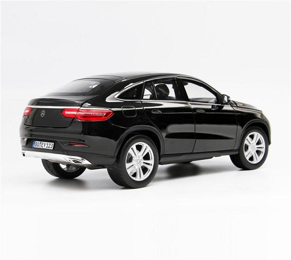 โมเดลรถ โมเดลรถเหล็ก โมเดลรถยนต์ Benz GLE 2015 Black 2