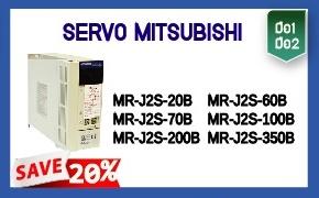 SERVO MITSUBISHI (มือ1 มือ2)  ลดราคา 20 % เฉพาะรุ่น   - MR-J2S-20B  - MR-J2S-60B  - MR-J2S-70B  -  MR-J2S-100B  - MR-J2S-200B  - MR-J2S-350B