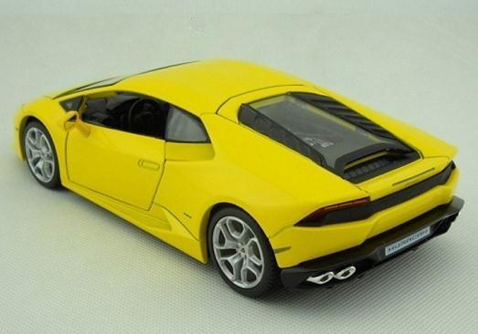 โมเดลรถ โมเดลรถยนต์ รถเหล็ก Lamborghini huracan LP610-4 2