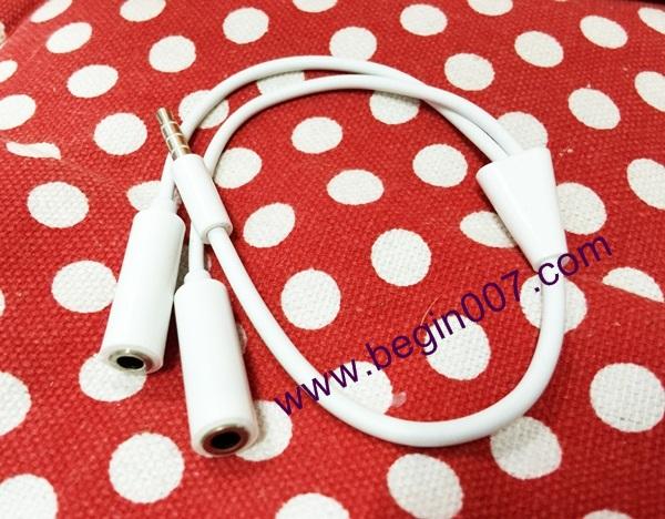 หัวแจ้ค 3.5 มิล เพิ่มช่องหูฟังเป็น 2 ช่อง แบบ สายคู่