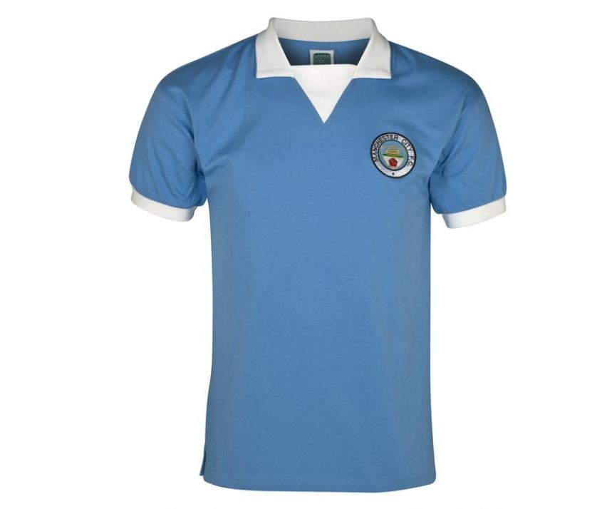 เสื้อ Retro แมนเชสเตอร์ ซิตี้ ของแท้ 100% Manchester City 1976 S/S Retro Home Shirt เป็นของฝาก ของสะสม ที่ระลึก ของขวัญแด่คนสำคัญ Size: S M L XL XXL