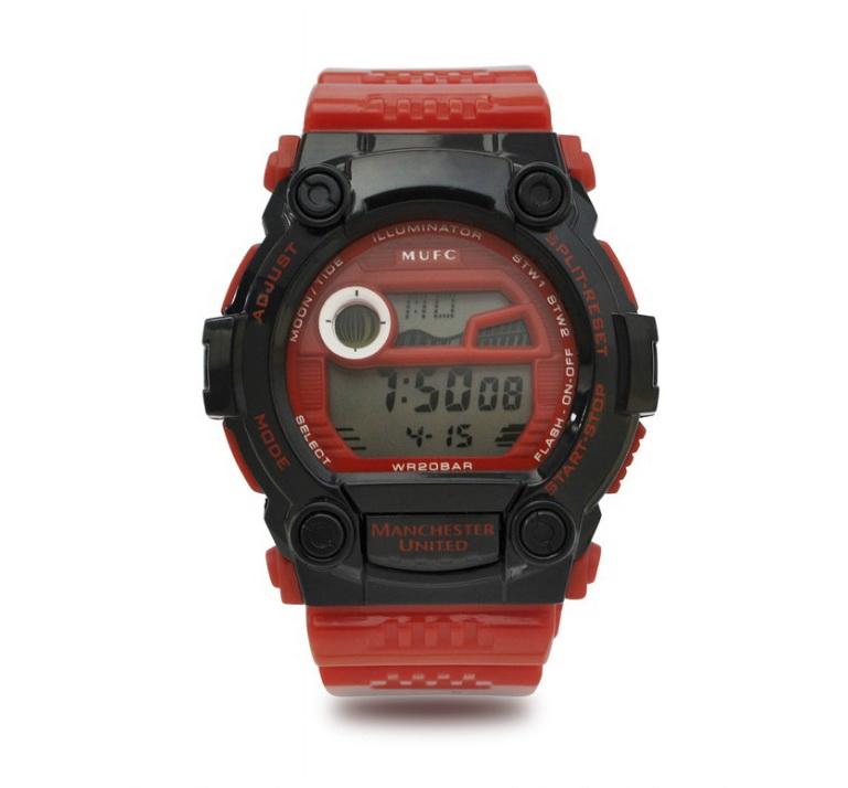 แมนยูล่าสุด: นาฬิกาแมนยู ของแท้ 100% Manchester United Digital Watch