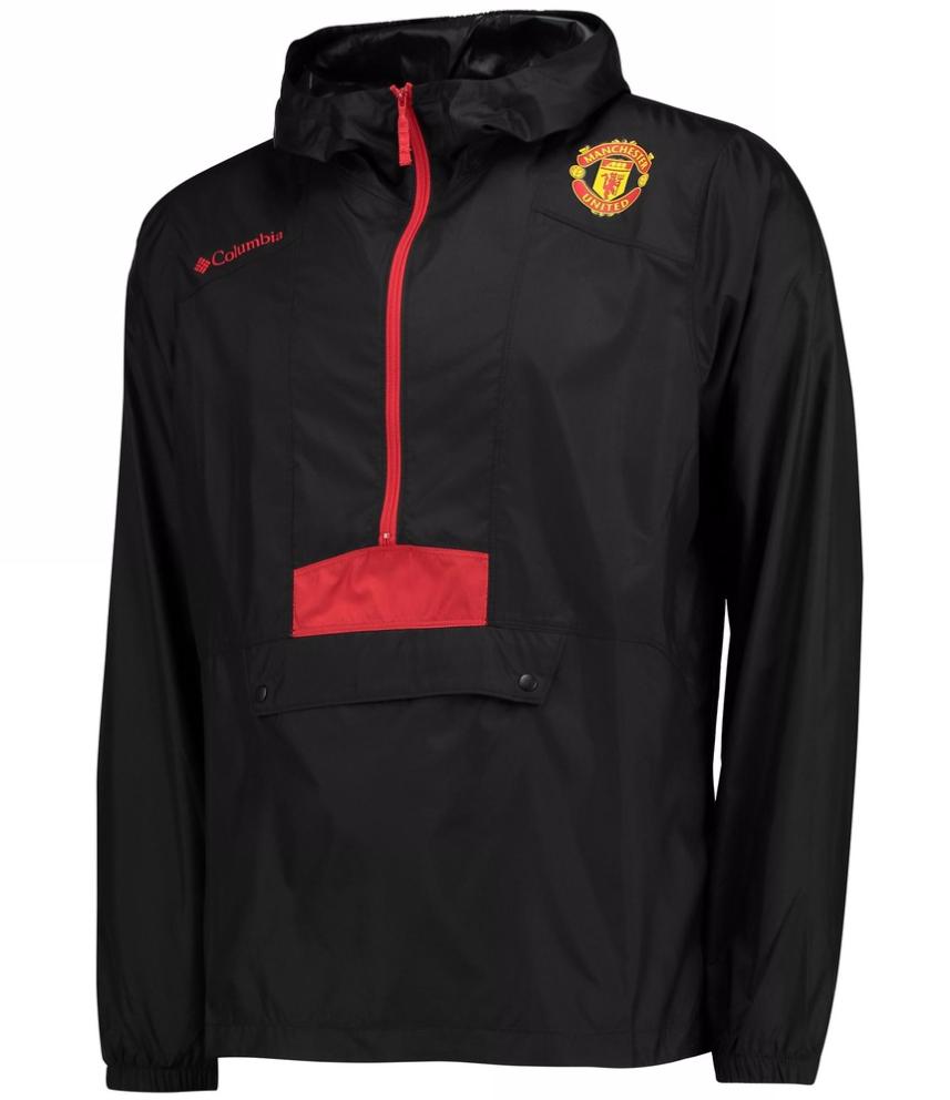 เสื้อฮู้ดแมนเชสเตอร์ ยูไนเต็ดของแท้ Manchester United Columbia Flashback Windbreaker