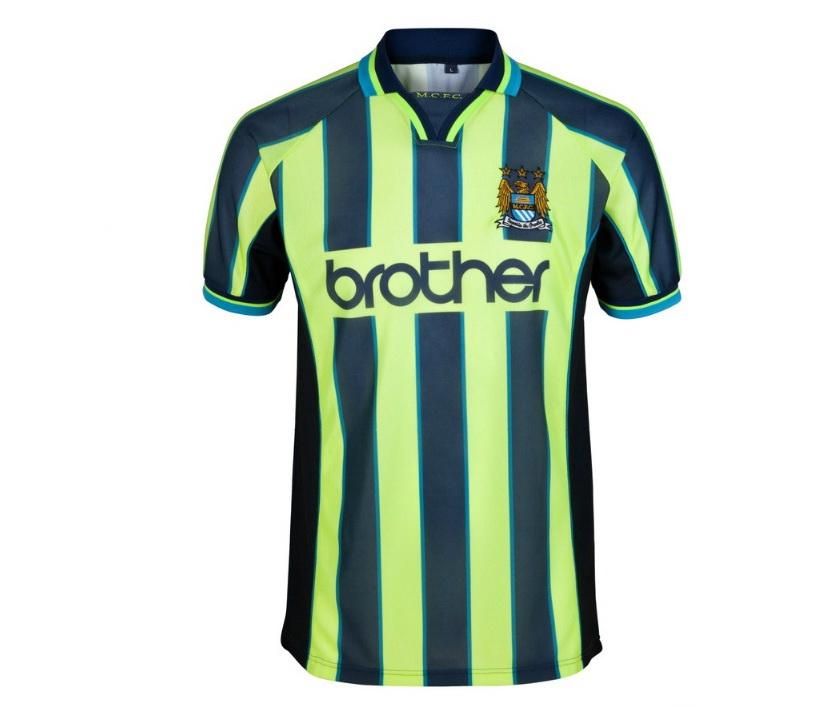 เสื้อ Retro แมนเชสเตอร์ ซิตี้ ของแท้ 100% Manchester City 1999 Wembley shirt เป็นของฝาก ของสะสม ที่ระลึก ของขวัญแด่คนสำคัญ Size: S M L XL XXL