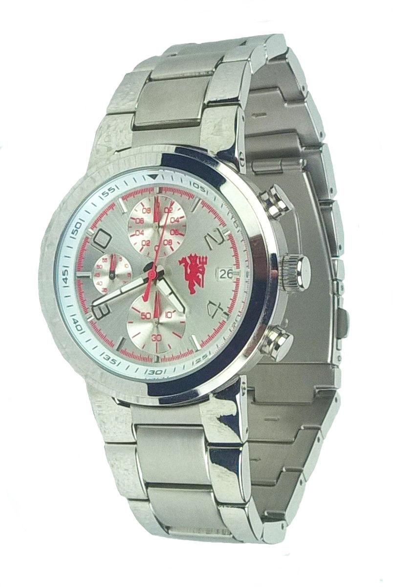 นาฬิกาข้อมือแมนเชสเตอร์ ยูไนเต็ดของแท้ 100% Official MANCHESTER UNITED Bracelet Chronograph Watch