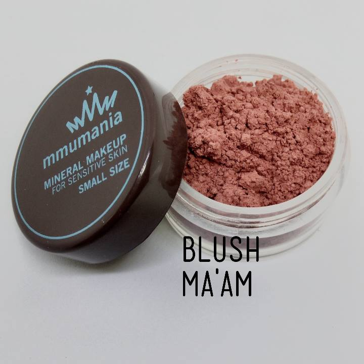 ขนาดจัดชุด MMUMANIA Exclusive Blush : Clear Matte MA'AM