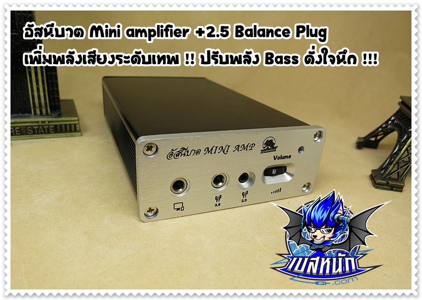 อัสนีบาต Mini amplifier