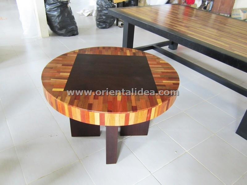 โต๊ะกลางไม้ลายปาร์เก้ TBG-276