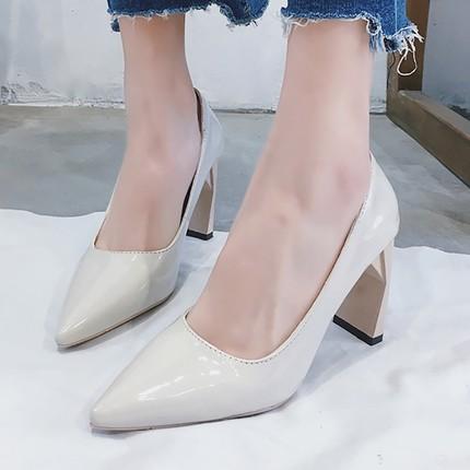 รองเท้าส้นสูงแฟชั่นเกาหลี