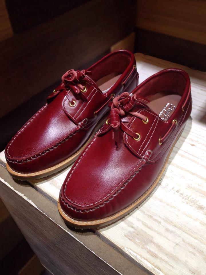 รองเท้าผู้ชาย | รองเท้าแฟชั่นชาย Red Boat Shoe หนังฟอก CCO ทำจากหนังวัวแท้