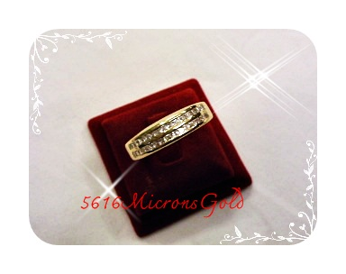 แหวนทอง5Microns