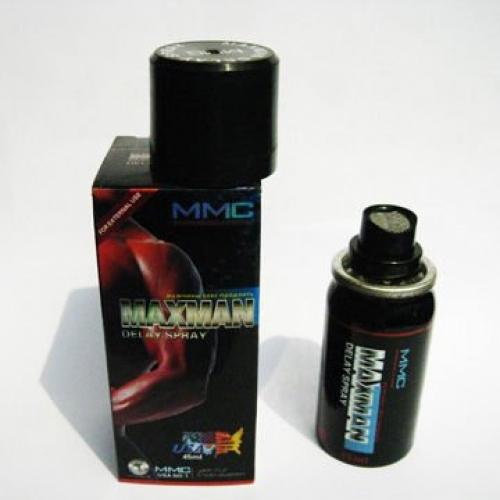 Maxman spray แข็งและช่วยชะลอ 30-60 นาที