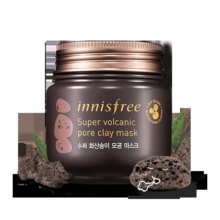 (พร้อมส่ง) Innisfree Super Volcanic Pore Clay Mask