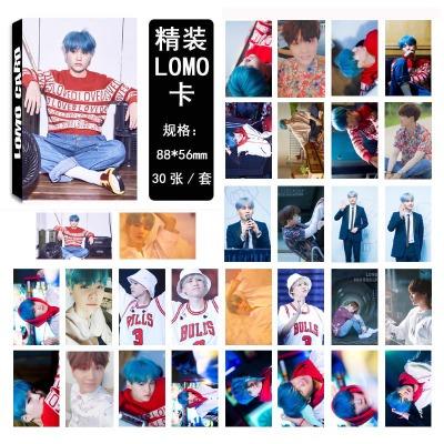LOMO CARD BTS Love Yourself SUGA 06