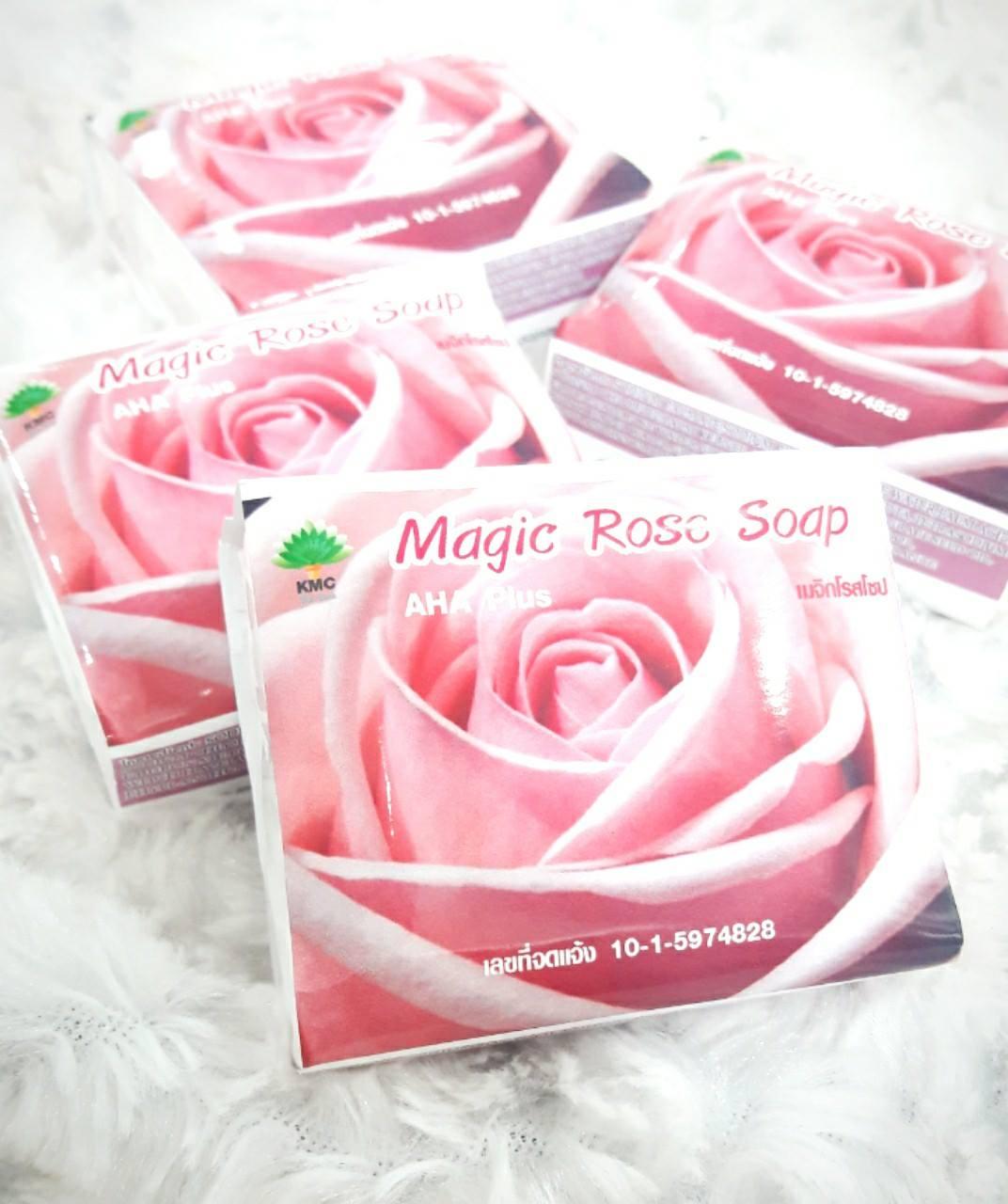 สบู่Magic Rose Soap