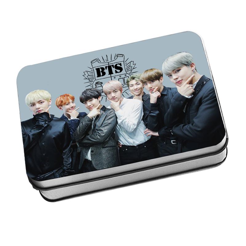 LOMO CARD +กล่องเหล็ก BTS