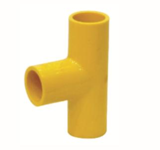 ข้อต่อสามทางสายสีเหลือง ขนาด 1/2 (130ตัว/ลัง)