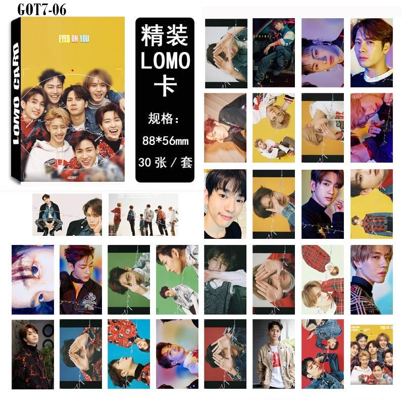 LOMO CARD GOT7 30รูป