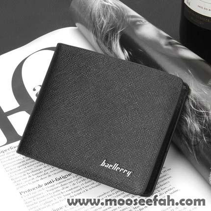 กระเป๋าสตางค์ผู้ชาย SH005 [สีดำ]