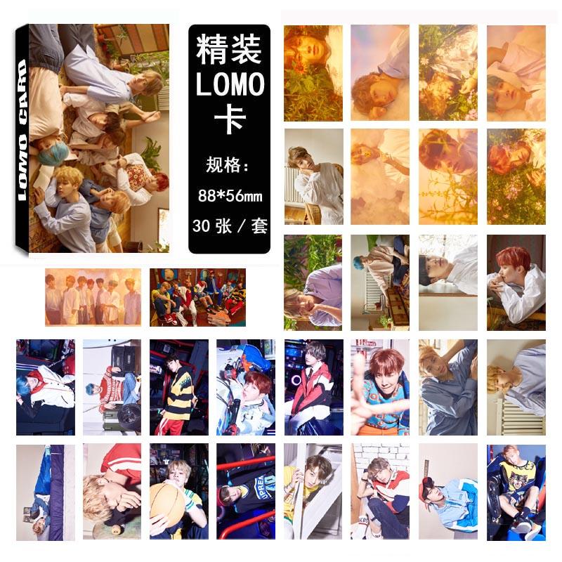 LOMO CARD BTS Love Yourself 09