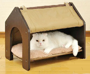 MU0022 เตียงนอนแมว ที่นอนแมว ห้องนอนแมว นำเข้าจากญี่ปุ่น