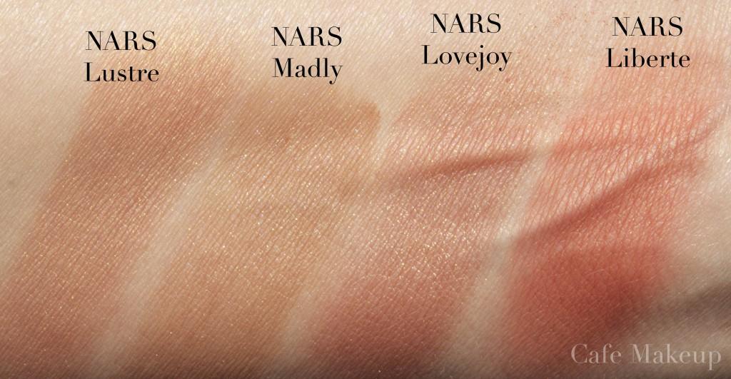 �ล�าร���หารู��า�สำหรั� NARS Blush Luster