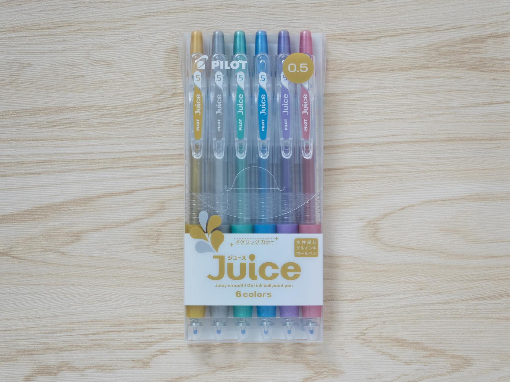 Set 6สี Pilot Juice 0.5 Metallic