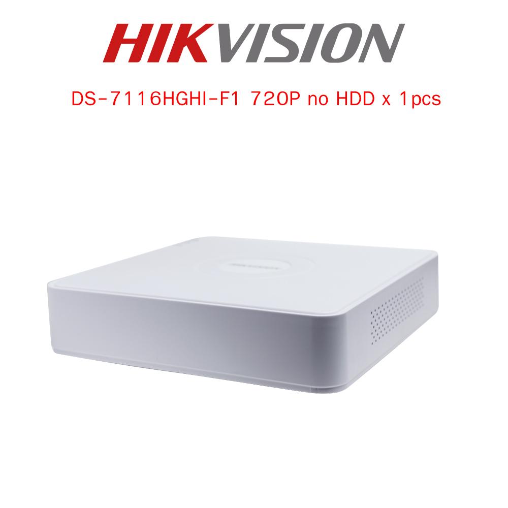 กล้องวงจรปิด Hikvision Turbo HD HDTVI Camera DS-7116HGHI-F1 HD720P 1MP