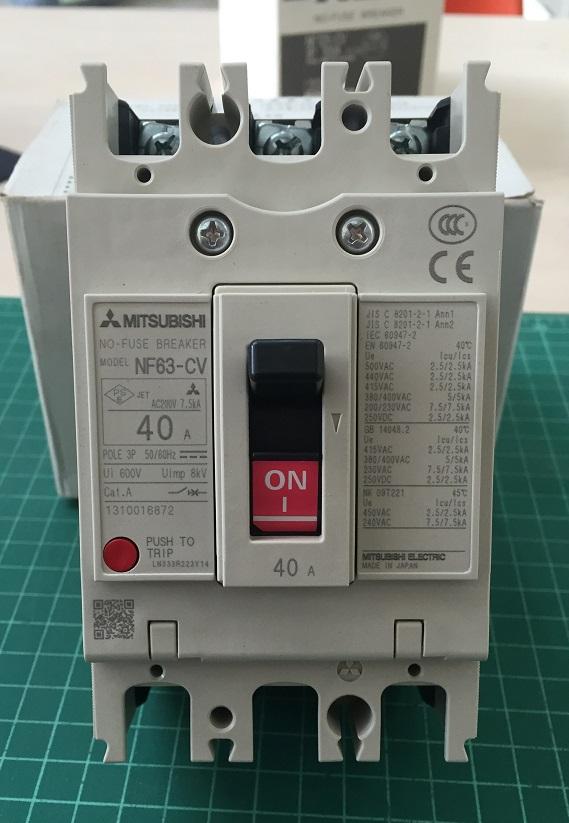เบรกเกอร์ 3P 63CV 40A (5kA)