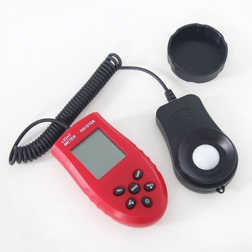 เครื่องวัดแสง ราคาถูก (Digital Light Meter) วัดได้ 0-200,000 Lux/FC ปรับได้ 3 ย่าน รุ่น HS1010A