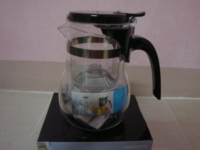 แก้วชงชา แบบสำเร็จรูป มีที่กรองในตัว 600 ML. อย่างดี