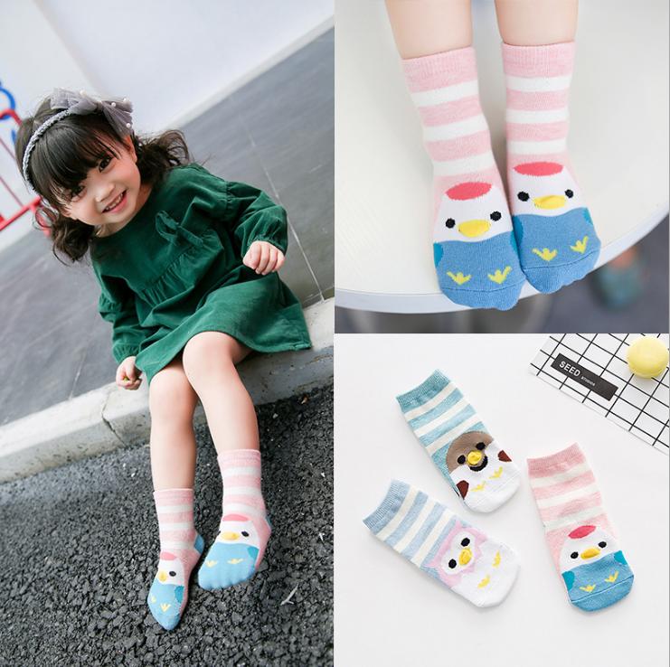 ถุงเท้าสั้น คละสี แพ็ค 12 คู่ ไซส์ S (ประมาณ 1-3 ปี)