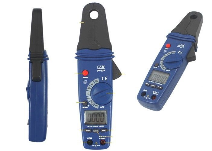 Clamp Meter (แคลมป์มิเตอร์) คุณภาพสูง ยี่ห้อ CEM รุ่น DT-337 วัดได้ทั้ง AC/DC