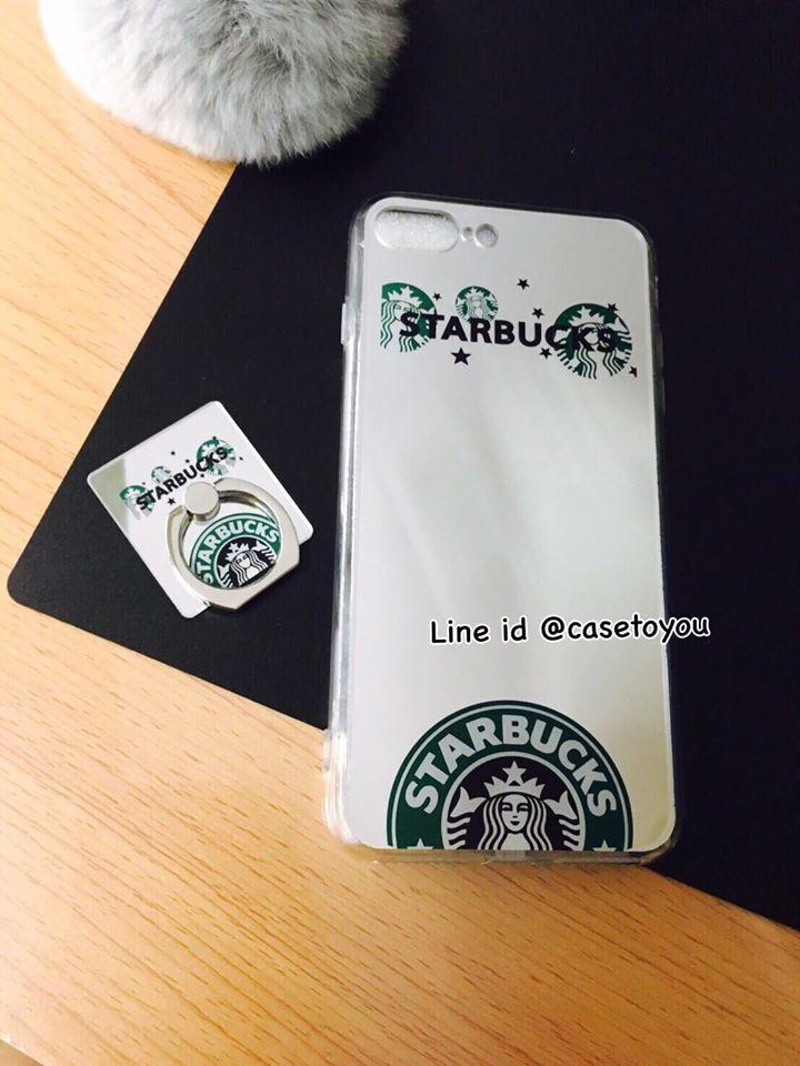 เคสกระจกเงา Starbuck iPhone 5/5S/SE