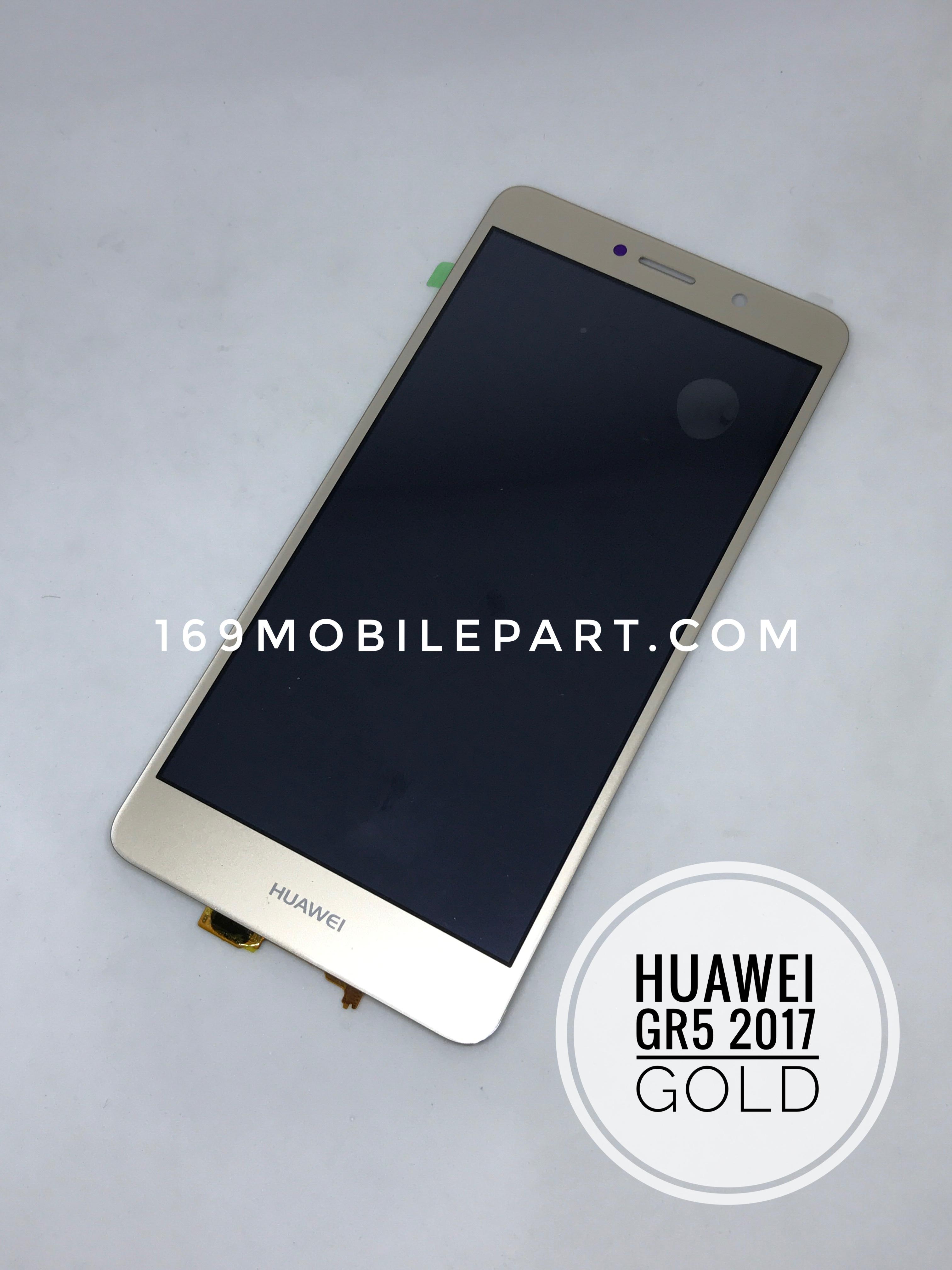 จอ + ทัชสกรีน Huawei GR5 2017 สีทอง 5.5 นิ้ว