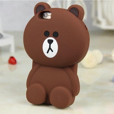 เคสไอโฟนหมี Brown iPhone 6/6S