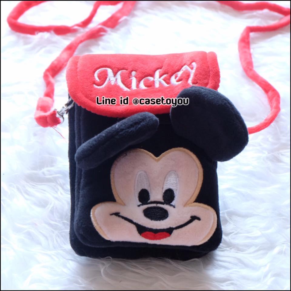 กระเป๋าใส่มือถือและของจุกจิกต่างๆ Mickey Mouse