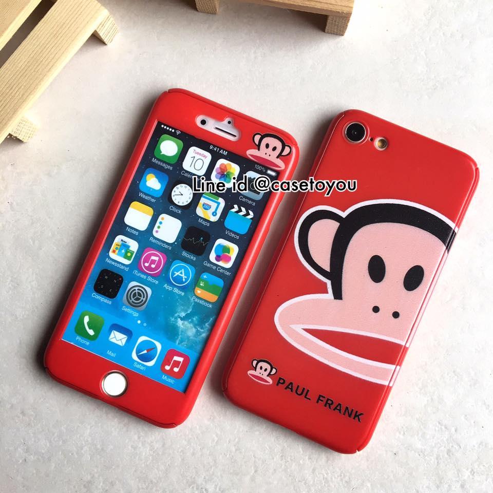 เคสประกบ 360 องศา Paulfrank red iPhone 7