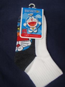 ถุงเท้ากันลื่น ลายโดราเอมอน